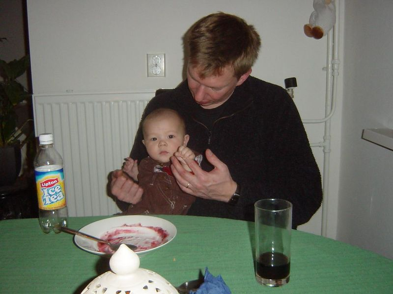 Jorick with Rob