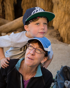 Maureen and Atticus, Palm Canyon