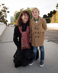 Maureen and Atticus, Balboa Park