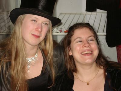 Linda and Susanne