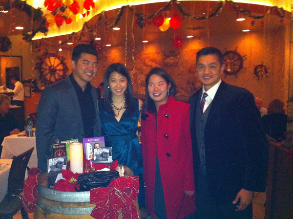 NYE Dinner with the Gosoms & Park @ Frascati in Rolling Hills Estate.