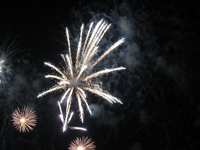 Dubai fireworks.