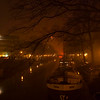 New Year 2007 <br /> Amsterdam crowds waiting for more fireworks or firecrackers to go off