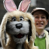 A puppet at New York City's Easter Parade