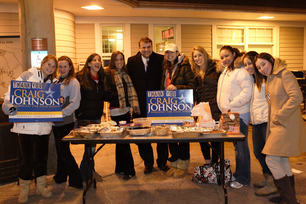 Democratic and Working Families Party candidate Craig Johnson ran a successful campaign against Republican Maureen O'Connell for the open State Senate seat in Nassau County's 7th District in 2007.