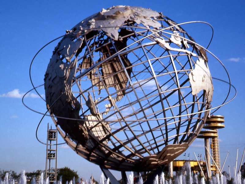 The Unisphere - Symbol of the 1964/65 World's Fair in Flushing Meadow Park