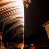 Fireworks in the wind II