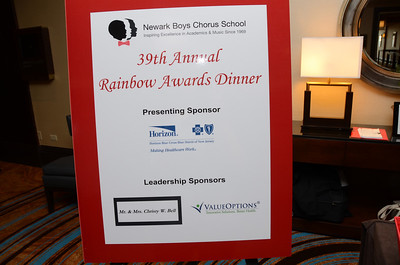 Newark Boys choir school rainbow event 2014