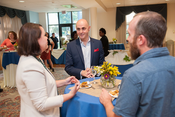 Newly Promoted & Tenured Faculty Reception, Sept. 2016