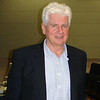 Günter Blobel, M.D., Ph.D., who received the 1999 Nobel Prize in Physiology or Medicine for his discovery that proteins have built-in signals that direct their movement in cells, visited the Joan C. Edwards School of Medicine at Marshall University Nov. 14