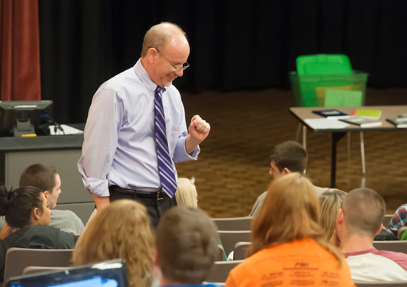 Dan Hollis, an associate professor of journalism and mass communications at Marshall University, has been selected as the 2012 Carnegie Foundation for the Advancement of Teaching West Virginia Professor of the Year.