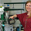 Dr. Laura McCunn, assistant chemistry professor, has been awarded a grant from the American Chemical Society Petroleum Research Fund to do research with the assistance of seven undergraduate students. Their work will contribute to a model to help predict the pollutants or soot that might be generated from particular fuel mixtures.