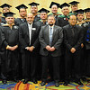 The Marshall University Executive MBA cohort, Class of 2012, after their hooding ceremony at the Charleston Marriott Dec. 2.