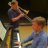 Dr. Michael Stroeher, trombone, and Dr. Henning Vauth, piano, will give a concert at 3 p.m. Sunday, Sept. 29.