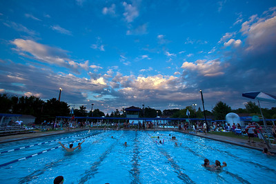 """The """"Last Splash"""" at the Highlands Park Pool held Saturday July 31, 2010 in Westerville, Ohio.  The pool closed early for the season for a complete demolition and re-construction.  The new facility is expected to open on Memorial Day 2011."""
