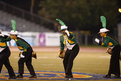 Brentwood High School performs at the 52nd Annual Newsday Marching Band Festival Day 2 from Mitchel Field.
