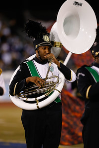 Elmont High School performs at the 52nd Annual Newsday Marching Band Festival Day 3 from Mitchel Field.