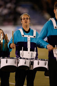 F.R.E.E. Players Drum Corps performs at the 52nd Annual Newsday Marching Band Festival Day 3 from Mitchel Field.