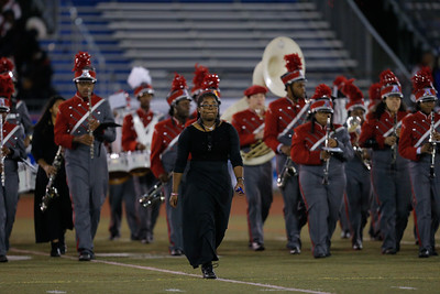 Amityville High School performs at the 53rd annual Newsday Marching Band Festival at Mitchel Field Athletic Complex in Uniondale, Oct 19, 2015