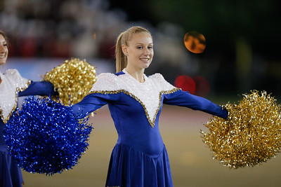 Bethpage High School performs at the 53rd annual Newsday Marching Band Festival at Mitchel Field Athletic Complex in Uniondale, Oct 15, 2015