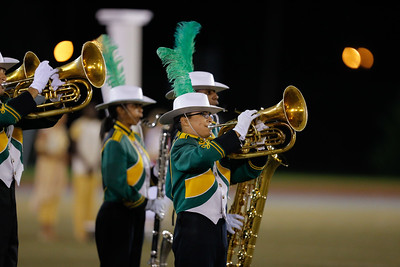 Brentwood High School performs at the 53rd annual Newsday Marching Band Festival at Mitchel Field Athletic Complex in Uniondale, Oct 15, 2015