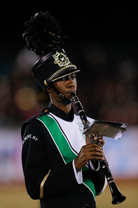 Elmont High School performs at the 53rd annual Newsday Marching Band Festival at mitchel Field Athletic Complex in Uniondale, Oct14, 2015