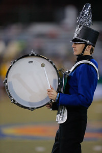 Elwood John Glenn High School performs at the 53rd annual Newsday Marching Band Festival at Mitchel Field Athletic Complex in Uniondale, Oct 19, 2015