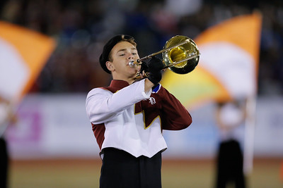 Kings Park High School performs at the 53rd annual Newsday Marching Band Festival at Mitchel Field Athletic Complex in Uniondale, Oct 15, 2015