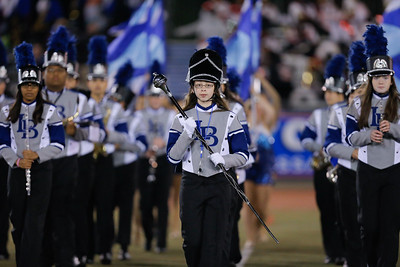 Long Beach High School performs at the 53rd annual Newsday Marching Band Festival at Mitchel Field Athletic Complex in Uniondale, Oct 19, 2015