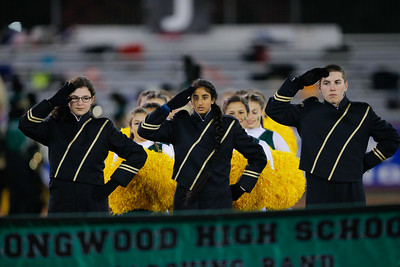 Longwood High School performs at the 53rd annual Newsday Marching Band Festival at Mitchel Field Athletic Complex in Uniondale, Oct 19, 2015