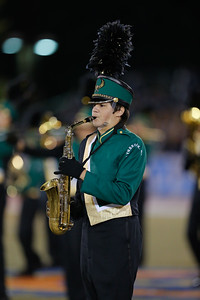 Lynbrook High School performs at the 53rd annual Newsday Marching Band Festival at Mitchel Field Athletic Complex in Uniondale, Oct 15, 2015
