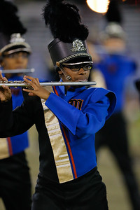 Malverne High School performs at the 53rd annual Newsday Marching Band Festival at Mitchel Field Athletic Complex in Uniondale, Oct 15, 2015