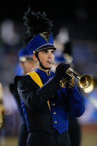 Massaequa High School performs at the 53rd annual Newsday Marching Band Festival at Mitchel Field Athletic Complex in Uniondale, Oct 19, 2015