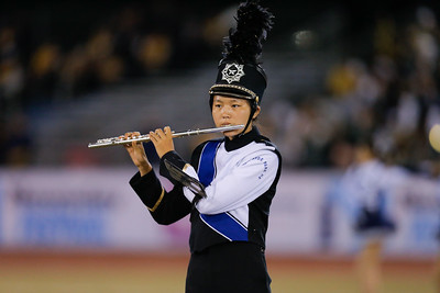 New Hyde High School performs at the 53rd annual Newsday Marching Band Festival at mitchel Field Athletic Complex in Uniondale, Oct14, 2015