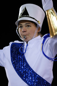 Rocky Point High School performs at the 53rd annual Newsday Marching Band Festival at Mitchel Field Athletic Complex in Uniondale, Oct 15, 2015