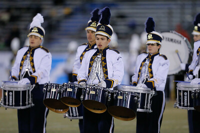 West Babylon High School performs at the 53rd annual Newsday Marching Band Festival at Mitchel Field Athletic Complex in Uniondale, Oct 19, 2015
