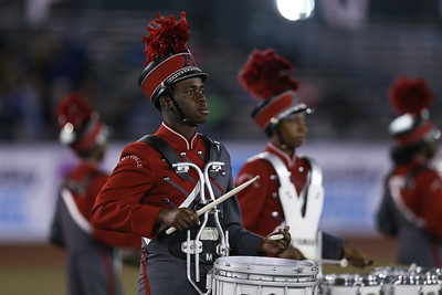 Amityville High School High School performs at the 54th Annual Newsday Marching Band Festival at Mitchel Field Athletic Complex in Uniondale, October 18, 2016