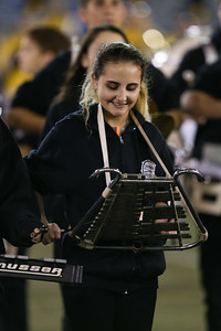 Commack High School performs at the 54th Annual Newsday Marching Band Festival at Mitchel Field Athletic Complex in Uniondale, October 19, 2016