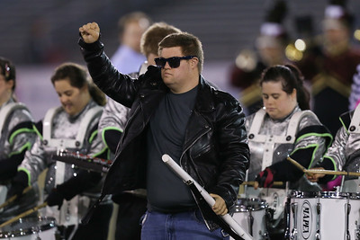 FREE Players Marching Band performs at the 54th Annual Newsday Marching Band Festival at Mitchel Field Athletic Complex in Uniondale, October 18, 2016