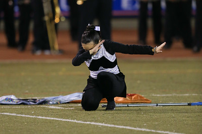Hauppauge High School performs at the 54th Annual Newsday Marching Band Festival at Mitchel Field Athletic Complex in Uniondale, October 19, 2016
