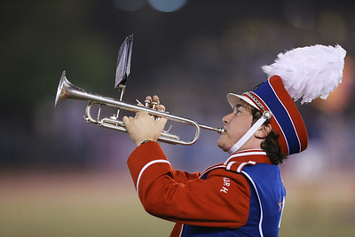 MacArthur High School performs at the 54th Annual Newsday Marching Band Festival at Mitchel Field Athletic Complex in Uniondale, October 20, 2016