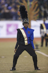Malverne High School performs at the 54th Annual Newsday Marching Band Festival at Mitchel Field Athletic Complex in Uniondale, October 20, 2016