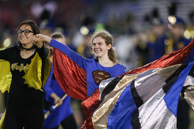 Massapequa High School performs at the 54th Annual Newsday Marching Band Festival at Mitchel Field Athletic Complex in Uniondale, October 18, 2016