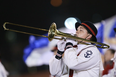 Oceanside High School performs at the 54th Annual Newsday Marching Band Festival at Mitchel Field Athletic Complex in Uniondale, October 20, 2016