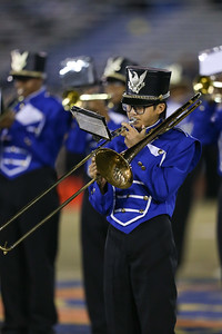 Valley Stream Central High School performs at the 54th Annual Newsday Marching Band Festival at Mitchel Field Athletic Complex in Uniondale, October 19, 2016