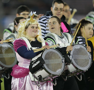 The FREE Players Drum Corps perform at the 55th Annual Newsday Marching Band Festival at Mitchel Field Athletic Complex in Uniondale, October 17th, 2017