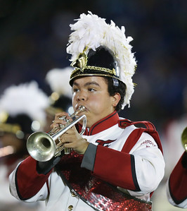 Freeport High School performs at the 55th Annual Newsday Marching Band Festival at Mitchel Field Athletic Complex in Uniondale, October 17th, 2017