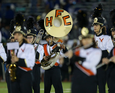 H. Frank Carey High School performs at the 55th Annual Newsday Marching Band Festival at Mitchel Field Athletic Complex in Uniondale on Wednesday, Oct. 18, 2017. (Credit: Chris Bergmann)