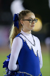 Hauppauge High School performs at the 55th Annual Newsday Marching Band Festival at Mitchel Field Athletic Complex in Uniondale on Wednesday, Oct. 18, 2017. (Credit: Chris Bergmann)