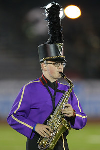 Islip High School performs at the 55th Annual Newsday Marching Band Festival at Mitchel Field Athletic Complex in Uniondale on Thursday, Oct. 19, 2017. (Credit: Chris Bergmann)